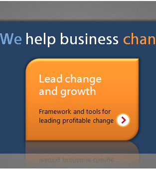 Lead change and growth - Framework and tools for leading profitable change >